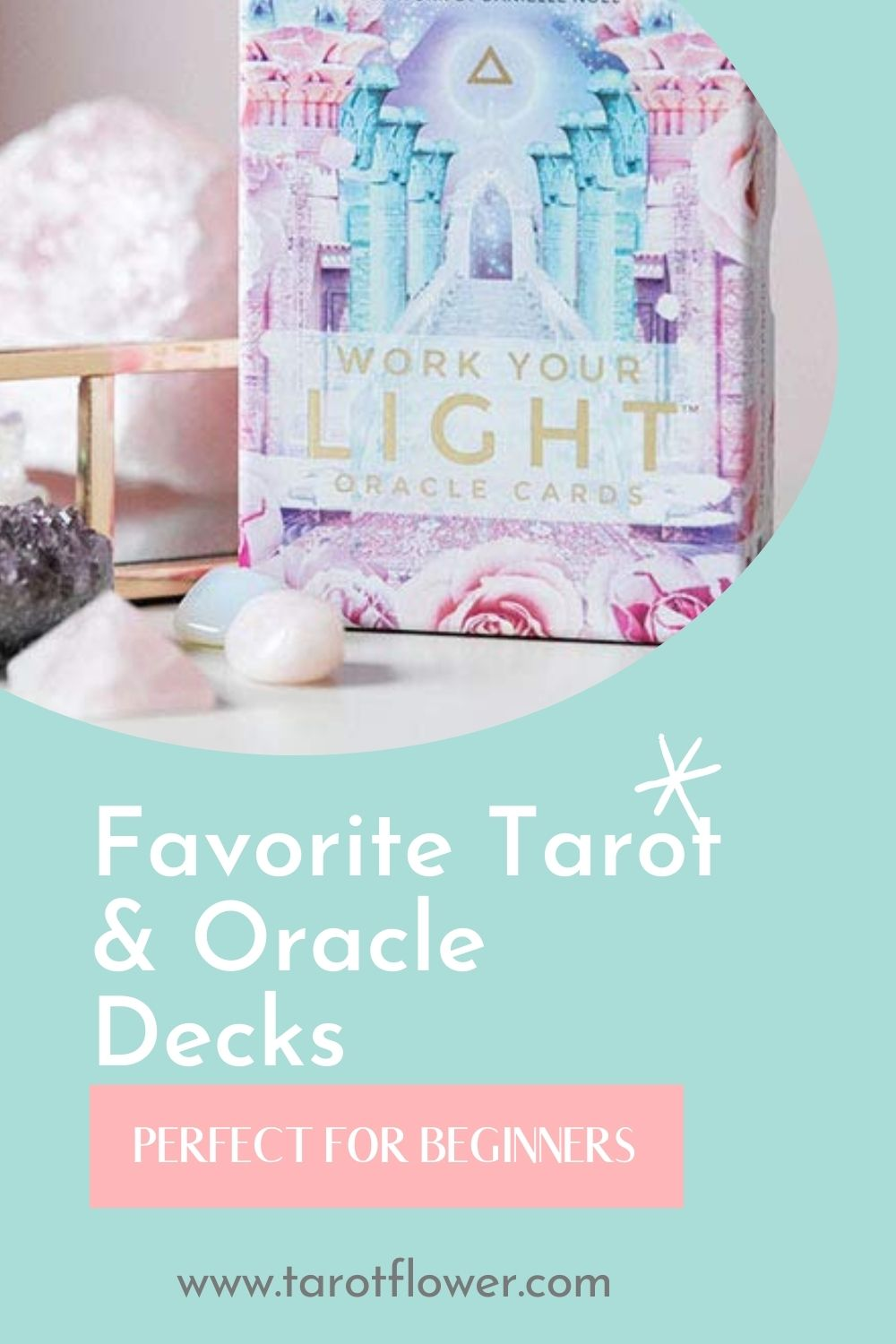 tarot cards, oracle cards