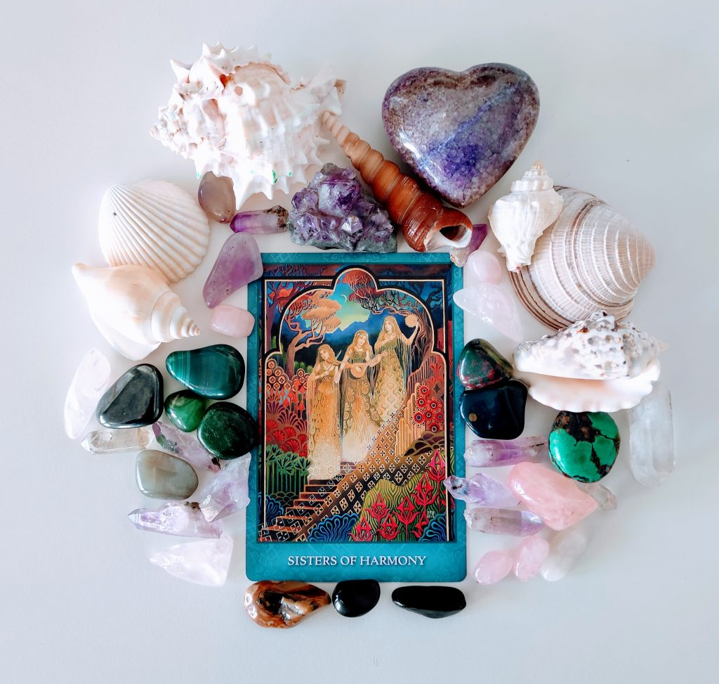 mystic sisters oracle deck review sisters of harmony card