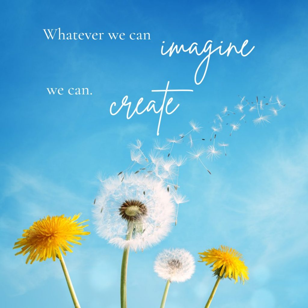 you are infinite possibility affirmation inspirational quote whatever we can imagine we can create embody the magician tarot card meaning