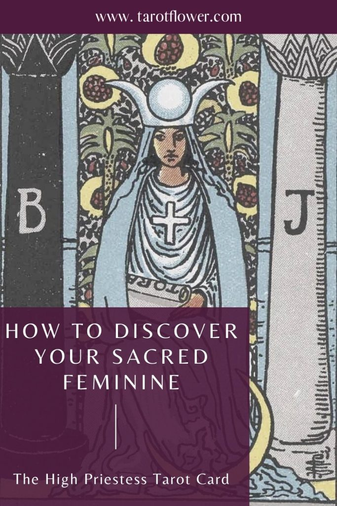 the high priestess tarot card meanings major arcana sacred feminine