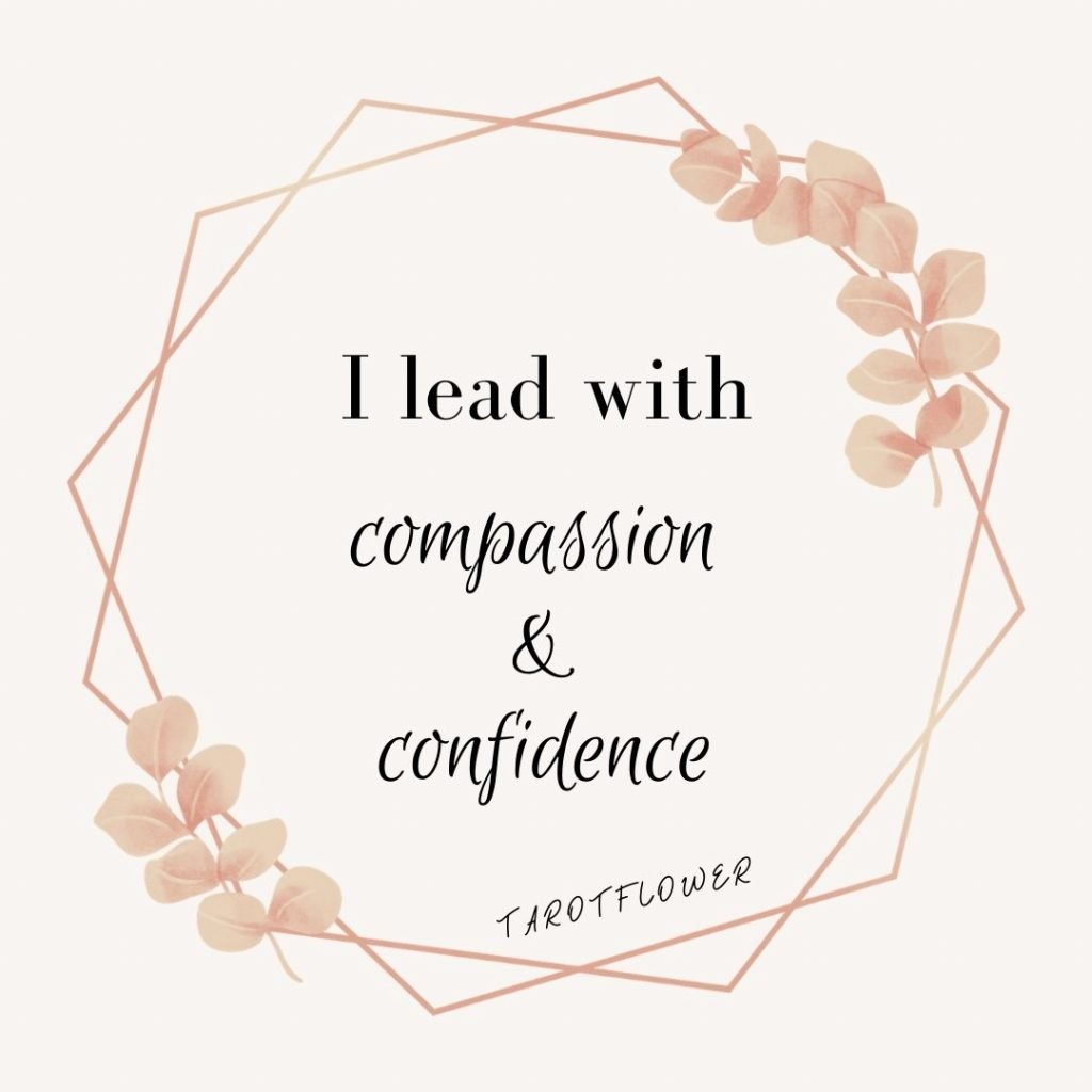 lead with compassion and confidence affirmation the emperor tarot card meanings embody