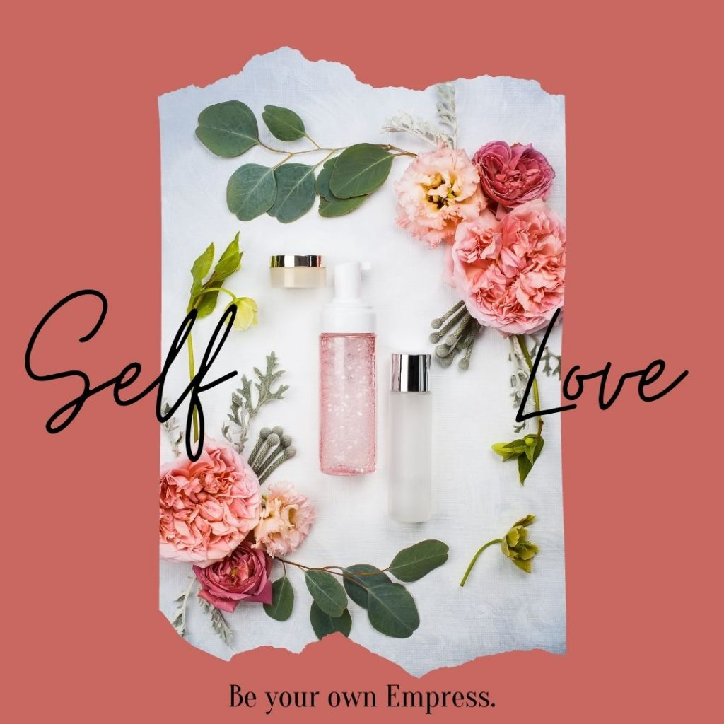 Practise self love with The Empress Tarot Card